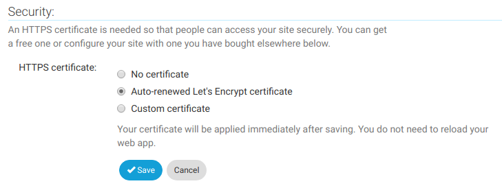 How to set up an HTTPS/SSL certificate for a custom domain