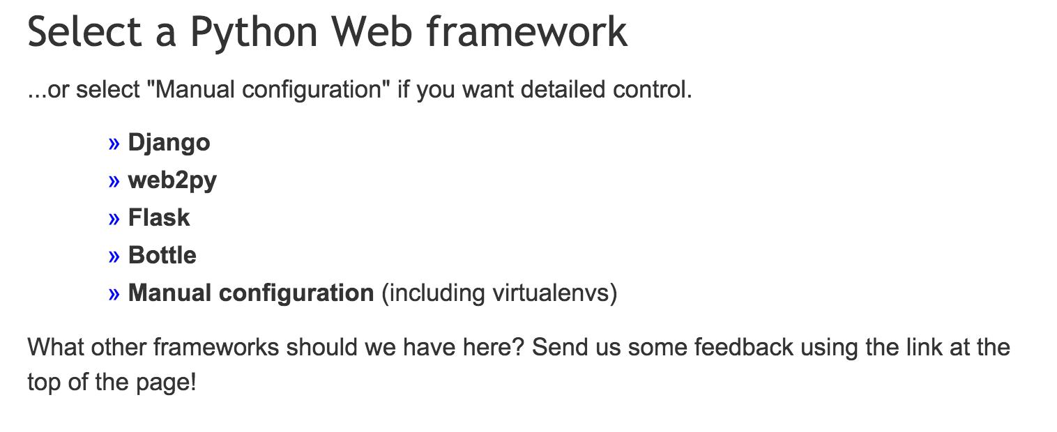 Deploying an existing Django project on PythonAnywhere